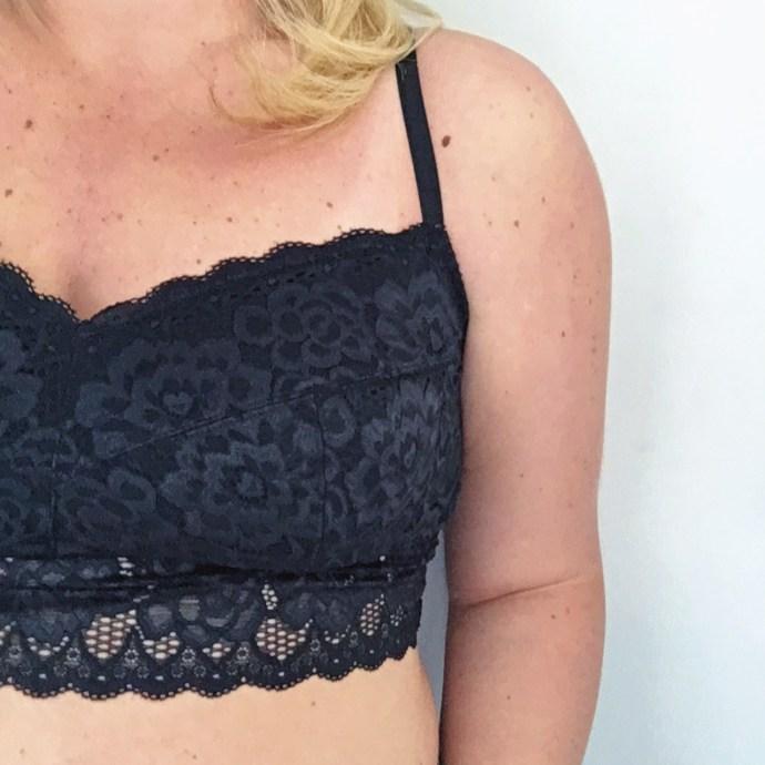 Plus Size bra lace bralette Ottawa Fashion Blog Mode XLusive Chantal Sarkisian blogger