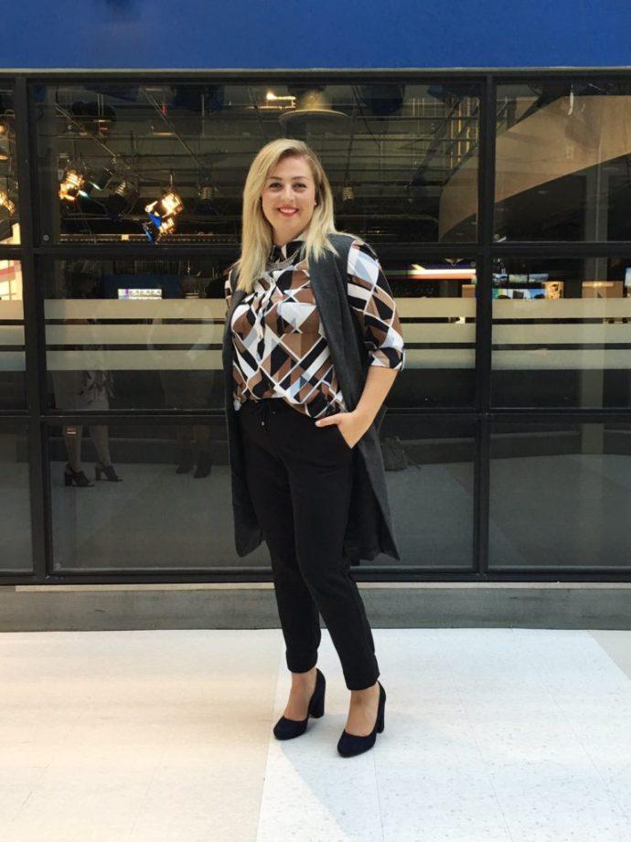 Ottawa Fashion Blog Le Chateau plus size shopping Chantal Sarksian style curvy blogger