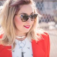 Ottawa designer sunglasses Fashion blog blogger Chantsy Ottawa Influencer