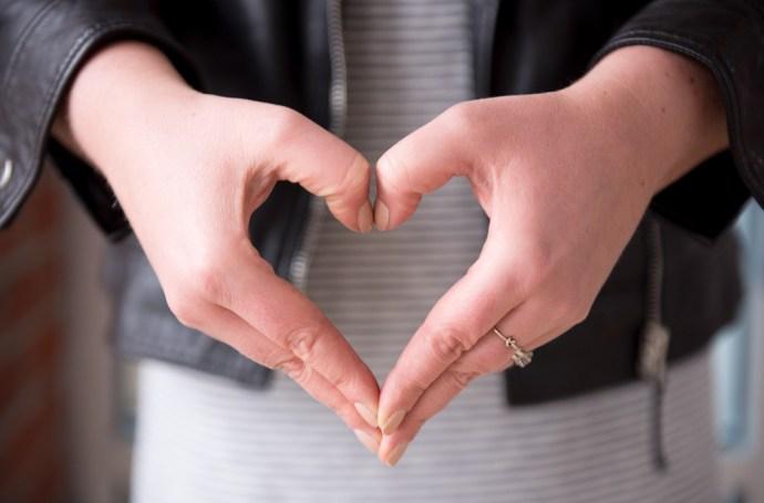 #Heart4MaternalHealth Heart for Maternal Health ADRA Canada hand in shape of heart fashion blogger Ottawa