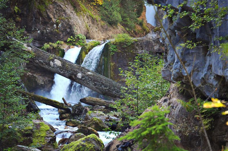 Washington Road Trip - Best Hiking Trails in Washington State. Washington Road Trip - The Best Hiking Trails in Washington State. A cascading waterfall on the Lava Canyon Trail near Mt. St. Helens, Washington.
