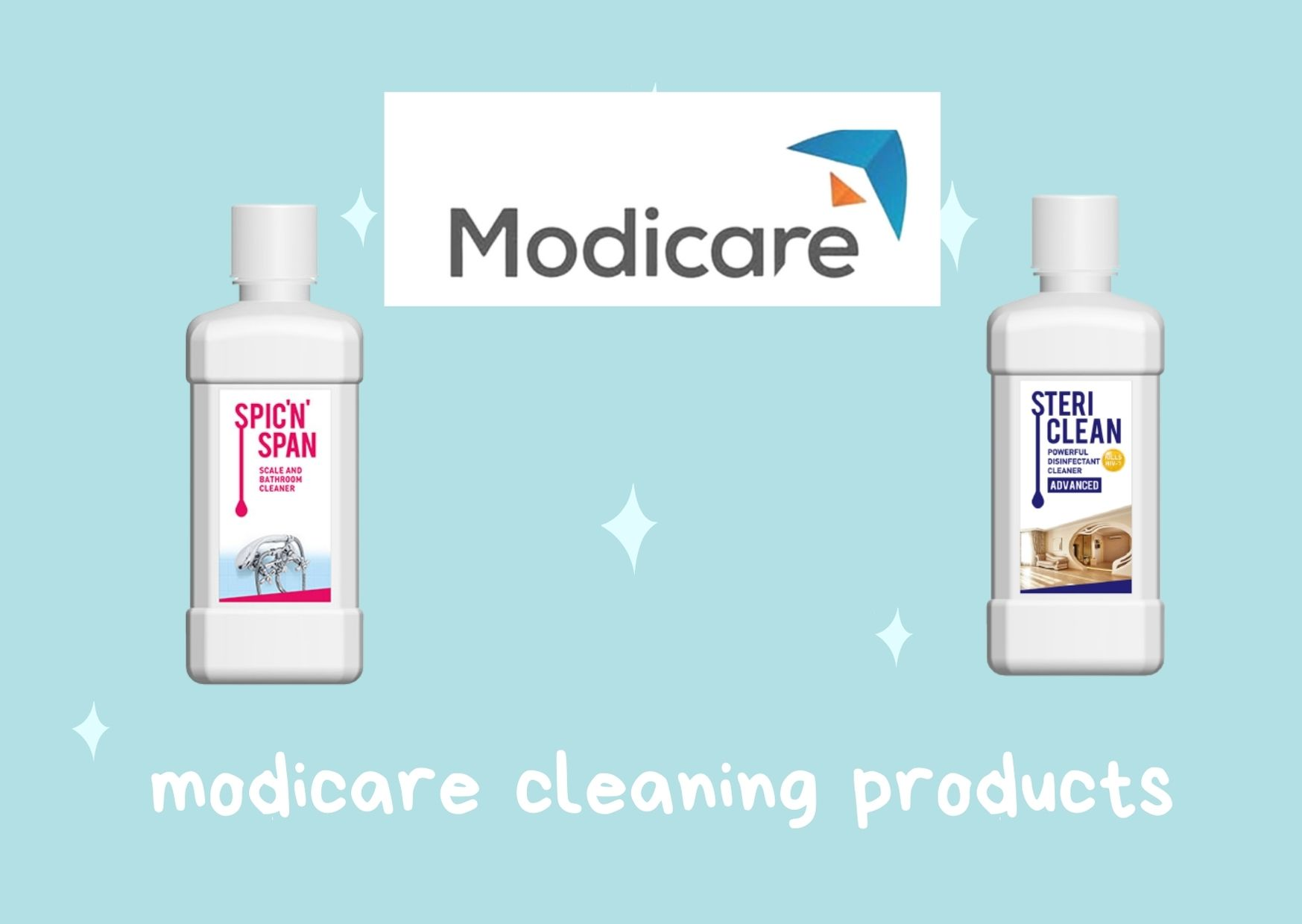 modicare steri clean products details hindi