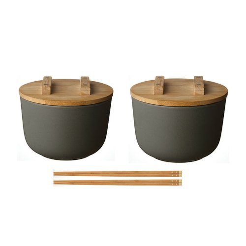Kkini Bowl and Chopsticks Set