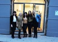 Alexia, Perrine, Véronique, Amandine & Laura