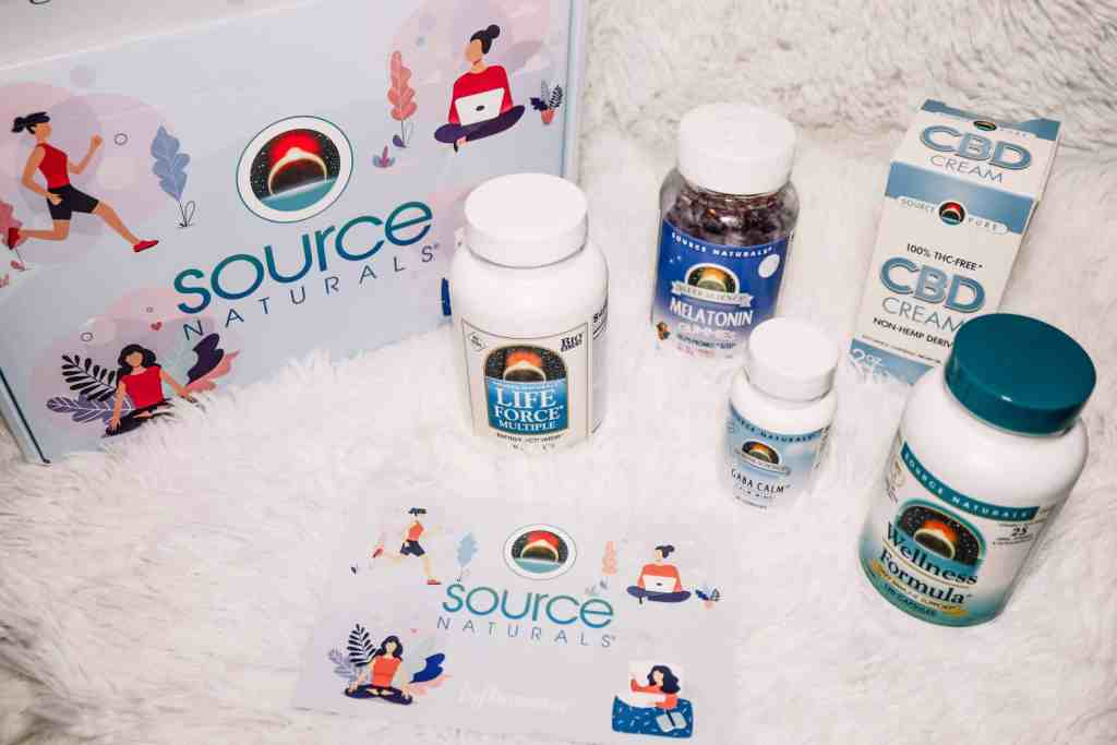 My daily wellness routine supplements on spot