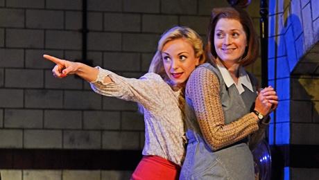Helen George & Amy Cudden