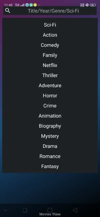 movies time search