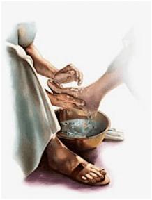 umyvanie noh
