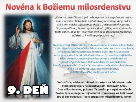 Božie milosrdenstvo 9