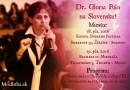 Dr. Gloria Polo na Slovensku