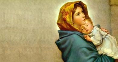 Modlitba pred spaním k Božej Matke