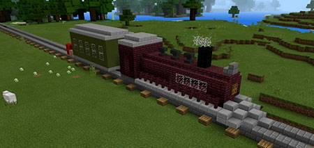 Command Block Train mcpe 3