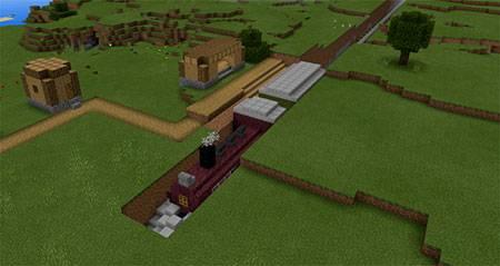 Command Block Train mcpe 4