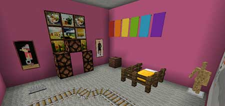 Карта Find The Button: Rooms Edition для Minecraft PE