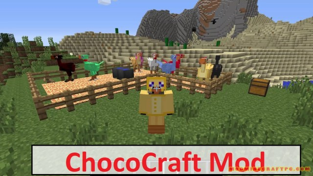 ChocoCraft Mod