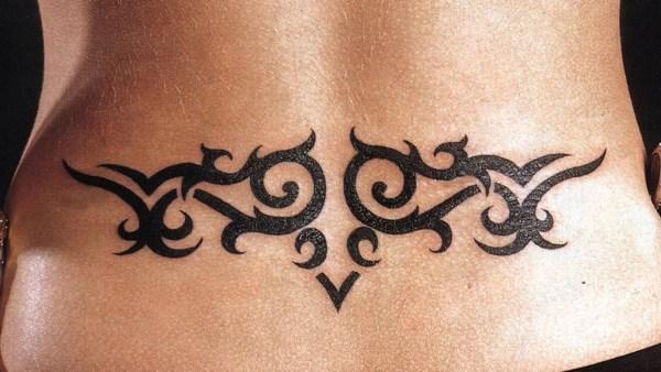 Красивые женские татуировки и их расположение на теле (фото)