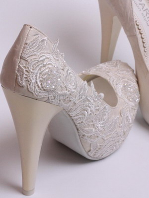 Wedding shoes 2018 year and their photos 5