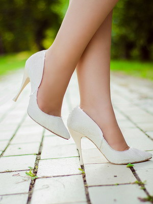 Wedding shoes 2018 year and their photos 12