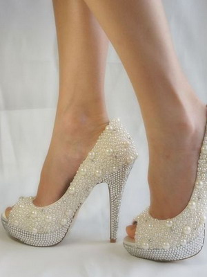 Wedding shoes 2018 year and their photos 27