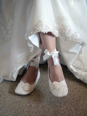 Wedding shoes 2018 year and their photos 32