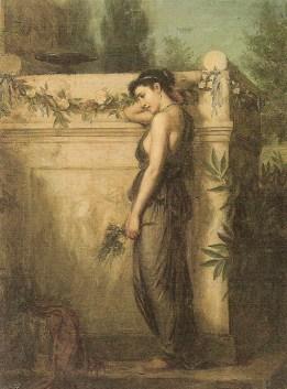 1873. Gone, but not forgotten - John William Waterhouse