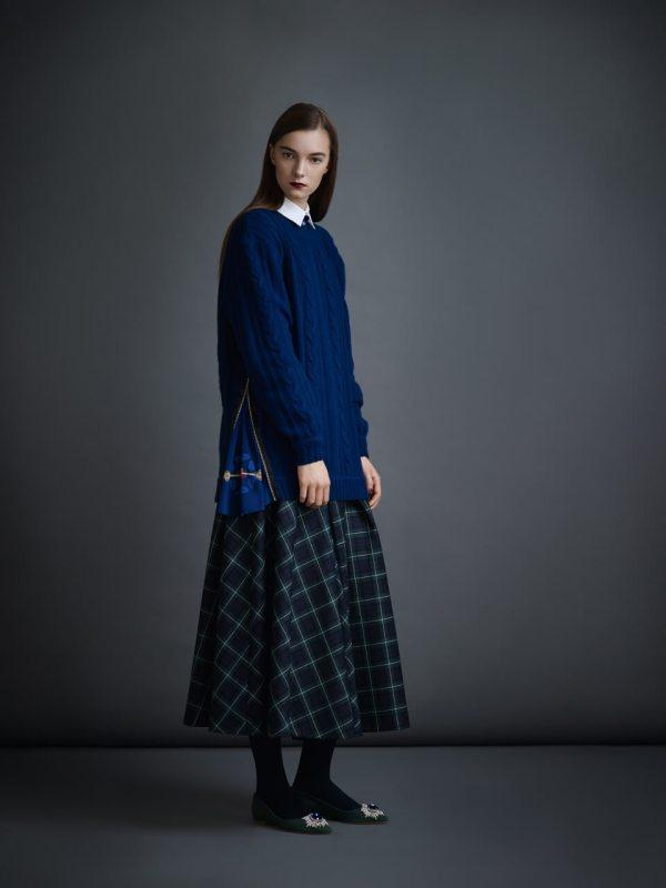 Юбки в клетку 2017 модные тенденции и фасоны с фото