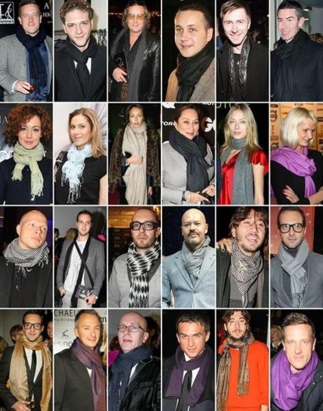 Как модно завязать шарф на шее 2019 для мужчин   свежее ...