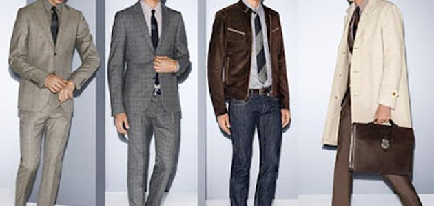تنسيق ألوان الملابس الرجالية موضوع