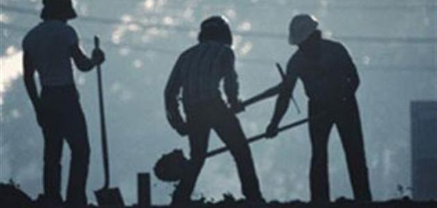 مقال قصير عن العمل والعمال موضوع