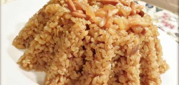 طريقة عمل أرز بالخلطة موضوع
