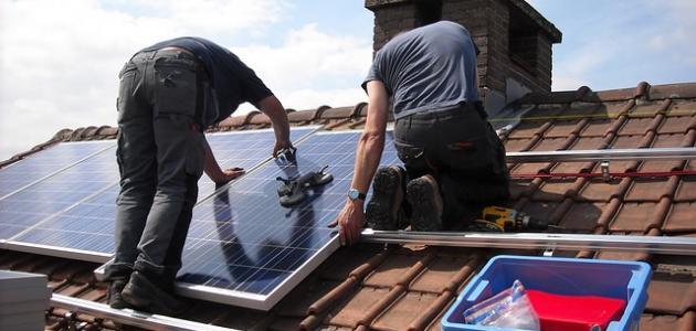 كيفية تركيب الطاقة الشمسية موضوع
