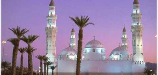 أين يقع مسجد قباء موضوع