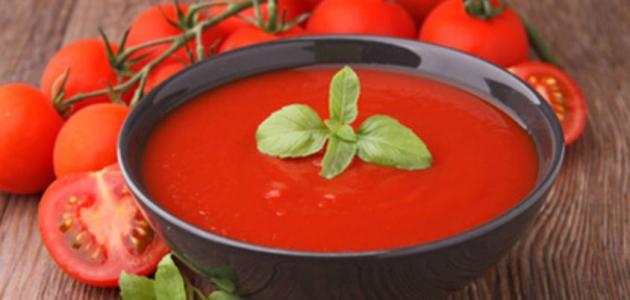 طريقة عمل شوربة الطماطم موضوع