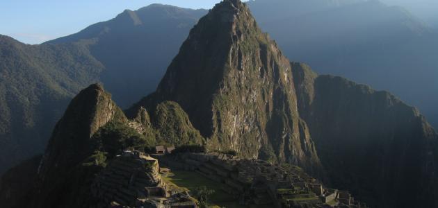 أين تقع بيرو موضوع