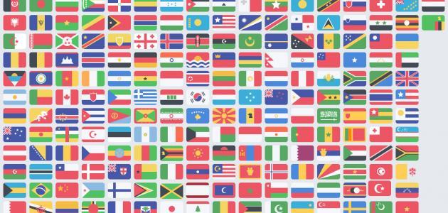 ترتيب الدول حسب المساحة موضوع