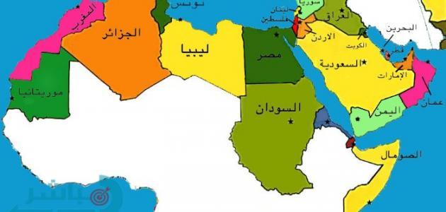 أكبر دولة عربية مساحة موضوع