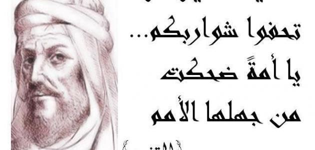 أبو الطيب المتنبي الشاعر العباسي موضوع