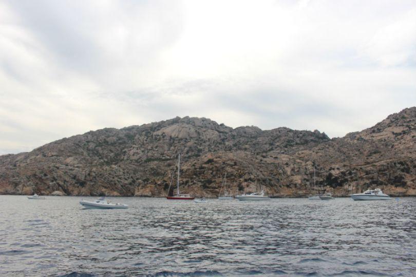 Imagens do retorno a Palau