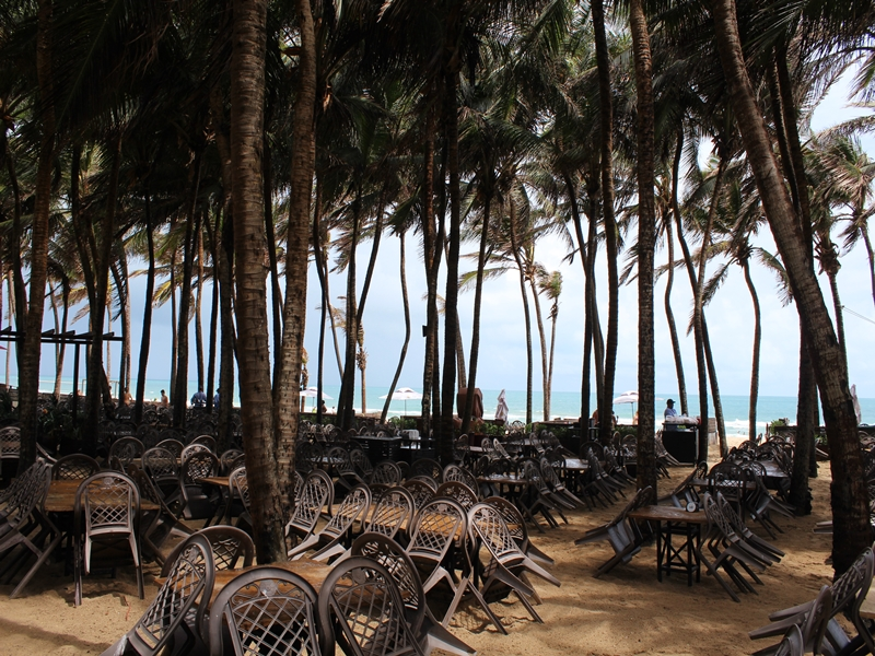 Área da praia