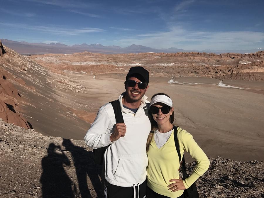 Deserto Atacama - Cenário surpreendente