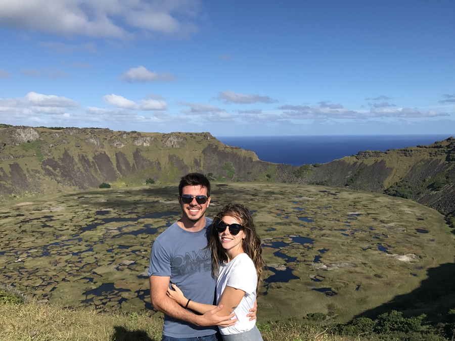 Ilha de Páscoa - Vulcão