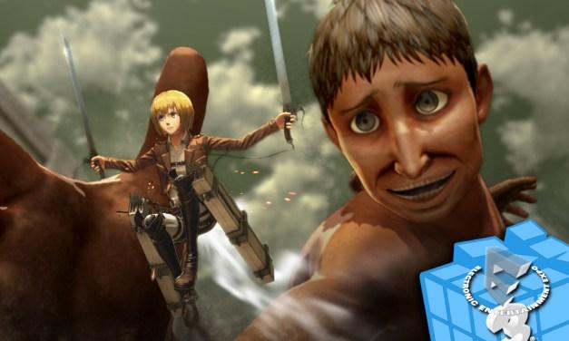 Koei Tecmo nos trae Nioh y Attack on Titan