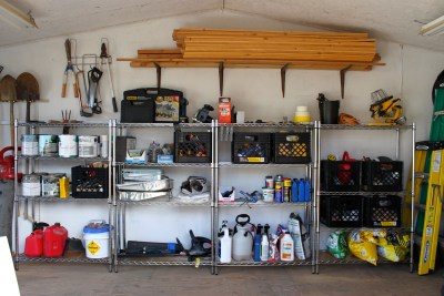Shed Organization - After