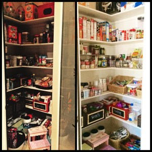 Pantry Before/After