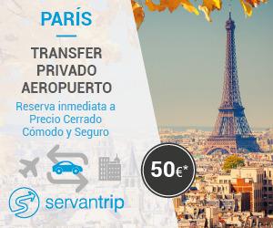 Transfer París - Aeropuerto