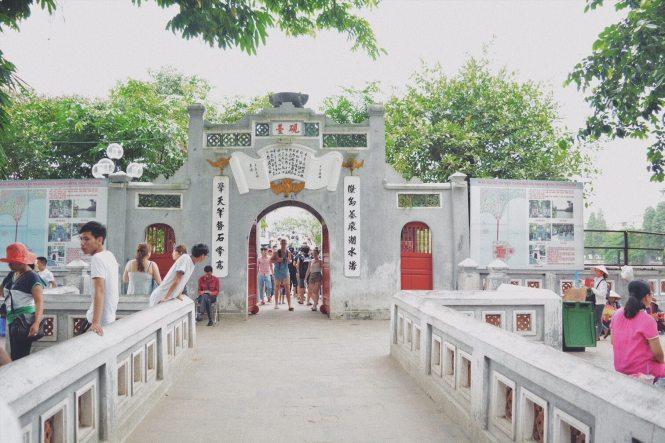 Templo Ngoc Son - Hanoi en un día
