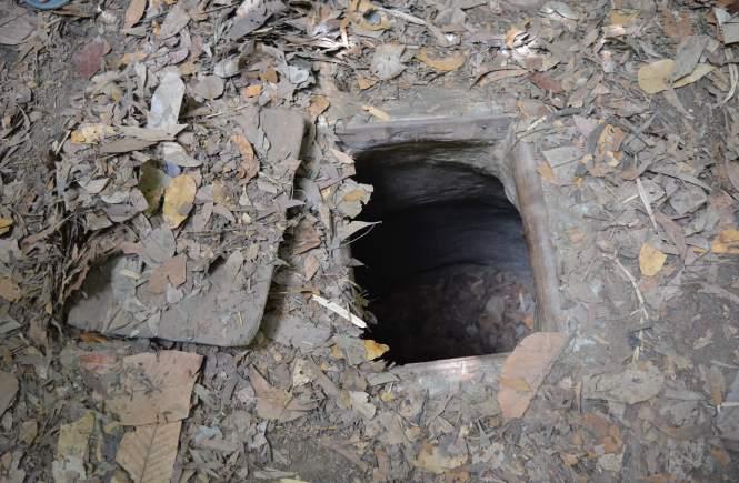 túneles de cu chi en ho chi minh vietnam
