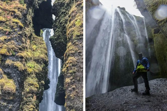 Glúfrafoss sur de islandia