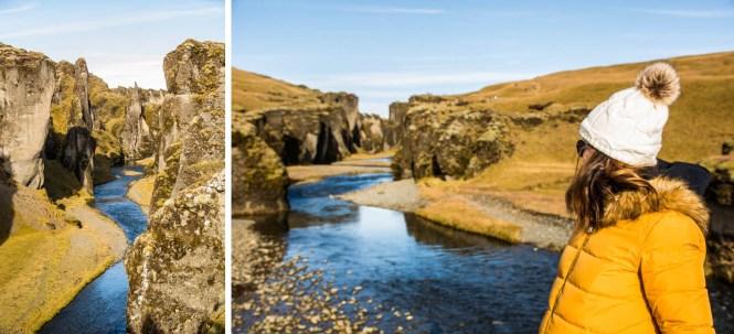 cañon Fjaðrárgljúfur