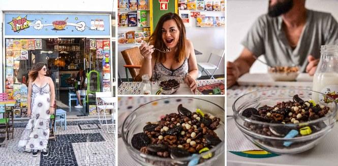Donde comer en Oporto. Pop Cereal